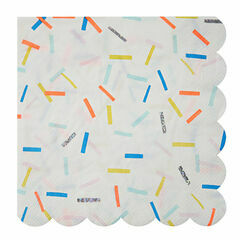 Meri Meri Sprinkles Party Large Napkin