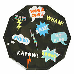 Meri Meri Zap! Party Large Plates