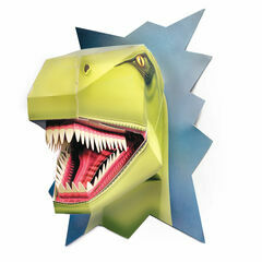 Build a Terrible T-Rex Dinosaur Head
