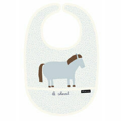 Farm PVC Cotton Bib - Horse