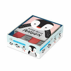 Wee Gallery Soft Cloth Baby Book - Penguin