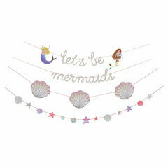 Meri Meri Let's Be Mermaids Garland