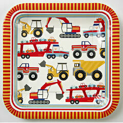 Meri Meri Big Rig Large Party Plates