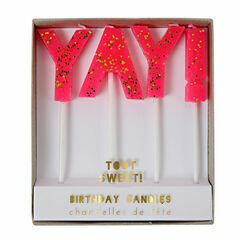 Meri Meri YAY! Cake Candles