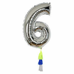 Meri Meri Fancy Number Balloon - 6