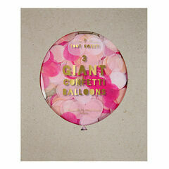 Meri Meri Pink Giant Confetti Balloon Kit