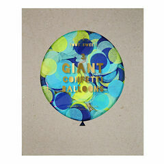 Meri Meri Blue Giant Confetti Balloon Kit