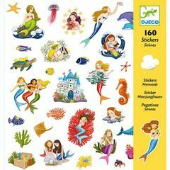 Djeco Stickers - Mermaids