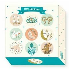 Djeco Roll of 100 stickers - Lucille