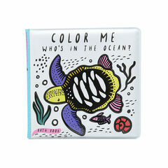 Colour Me Bath Book - Ocean