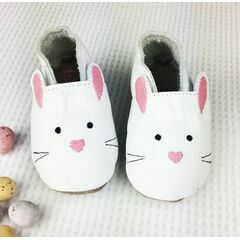 Born Bespoke Leather Baby Shoes - Bunny