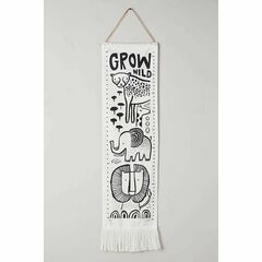 Wee Gallery Canvas Growth Chart - Safari