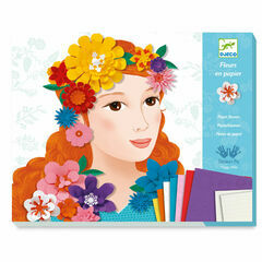 Djeco Paper Flower Workshops - Young Girls in Flowers