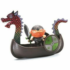 Djeco Pirate Figure & Dragon Boat / Drack & Ze Drakkar
