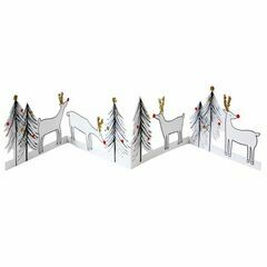 Reindeer & Christmas Tree Greeting Card
