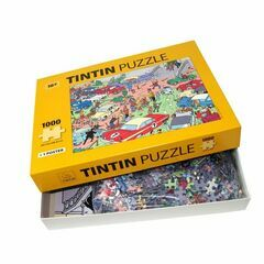 Tintin 1000 Piece Jigsaw Puzzle - Rally
