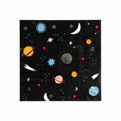 Space Small Paper Napkins