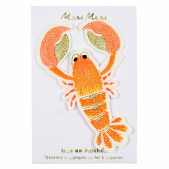 Lobster Iron-on Patch