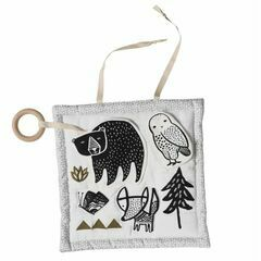 Wee Gallery Woodland Animals Activity Mat - Organic Cotton