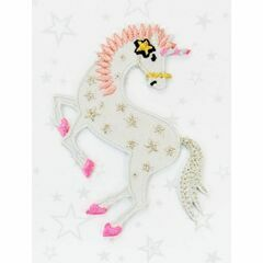 Embroidered Iron-on Patch - Unicorn