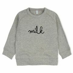 Milk Grey Sweatshirt