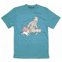 Tintin Blue T-Shirt