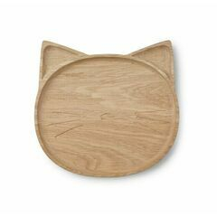 Conrad Wood Plate - Cat