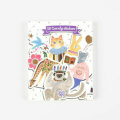 Djeco 50 Lovely Stickers - Aiko