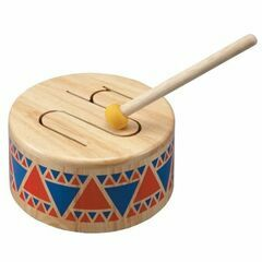 Plan Toys Solid Wooden Drum Toy