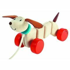 Plan Toys Pull Along Happy Puppy