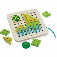 Plan Toys Wooden Lacing Board