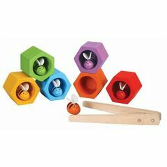 Plan Toys Wooden Beehive Game