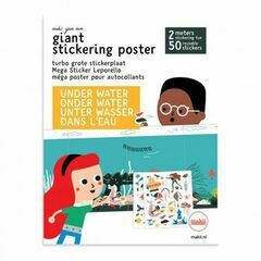 Giant Stickering Poster - Under Water