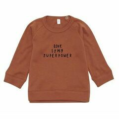 Love Sweatshirt - Rust