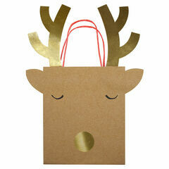 Meri Meri Reindeer Medium Party Bag