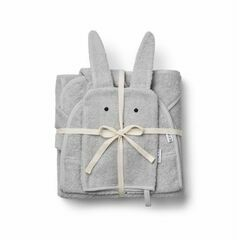 Adele Terry Baby Package - Rabbit Grey