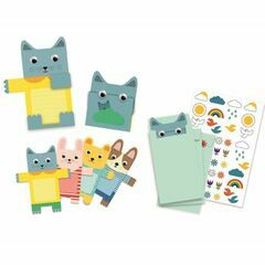 Birthday Invitation Set - Cuddly Toys -