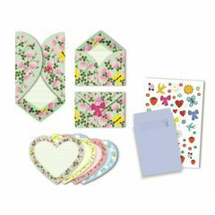 Birthday Invitation Set - Hearts