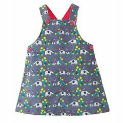 Molly Cord Pinafore Dress