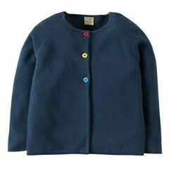Milly Swing Cotton Cardigan - Soft Navy