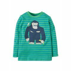 Discovery Applique Top - Breton Gorilla