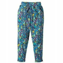 Gabriella Gathered Trousers - Paradise Bird