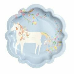 Magical Princess Small Party Paper Plates