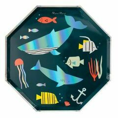 Under the Sea Party Large Paper Plates