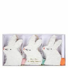Bunny Pinatas Party Favours - Set of 3