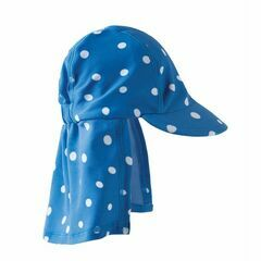 Little Swim legionnaires Hat - Sail Blue Polka Dot