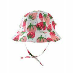 Reversible Ditsy Hat - Scilly Strawberries