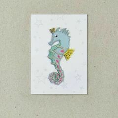 Iron-on Patch - Seahorse