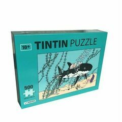 Tintin 500 Piece Jigsaw Puzzle - Shark submarine