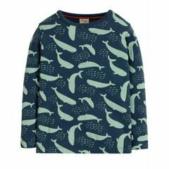Radley Whale Rib Top - Navy Blue